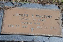 Joseph Sylvester Walton