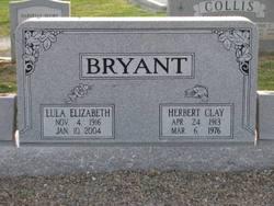 Lula Elizabeth <I>Poole</I> Bryant