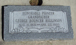 George Bouncer Higginson