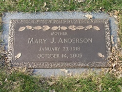 Mary Jane <I>Pepin</I> Anderson