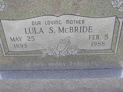 Lula Savannah <I>Rowell</I> McBride