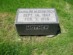 "Caroline M. ""Carrie"" <I>Wirth</I> Gerberich"