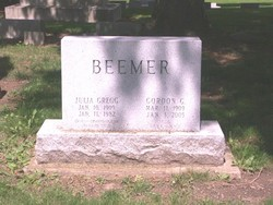 Julia <I>Gregg</I> Beemer