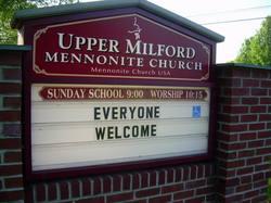 Upper Milford Mennonite Church Cemetery