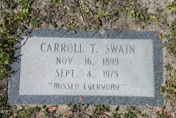 Carrol A <I>Thompson</I> Swain