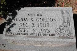 "Ouida Blanche ""Weedie"" <I>King</I> Gordon"