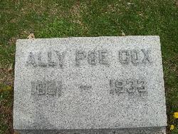 Ally M <I>Poe</I> Cox