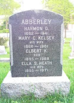 Mary C <I>Kelsey</I> Abberley