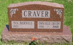 """Orville Laverne """"Bud"""" Craver"""