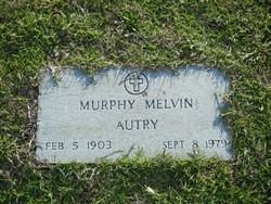 Murphy <I>Melvin</I> Autry