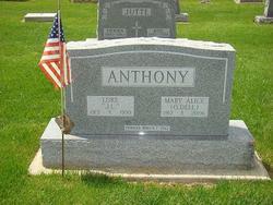 Mary Alice <I>O'Dell</I> Anthony