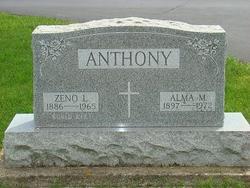 Alma Mary <I>Harting</I> Anthony