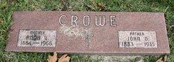 Anna Veronica <I>Dean</I> Crowe