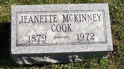 Jeanette <I>McKinney</I> Cook