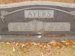 "Susan Ara ""Arie"" <I>Holt</I> Ayers"