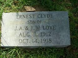 Ernest Clyde Love
