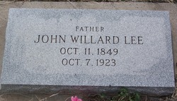 John Willard Lee