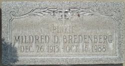 "Mildred Doris ""Pinkie"" <I>Edison</I> Bredenberg"