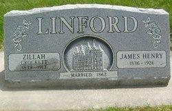 Zillah <I>Crockett</I> Linford
