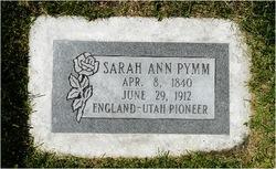 Sarah Ann Pymm
