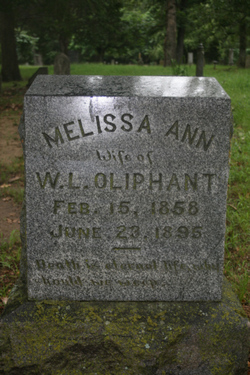 Melissa Ann <I>Loop</I> Oliphant