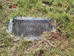 Willie E. <I>Blue</I> Bailey