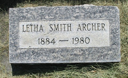 Letha Esther <I>Devin</I> Archer