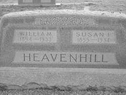 William M Heavenhill