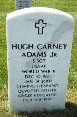 "SSGT Hugh Carney ""Buddy"" Adams, Jr"