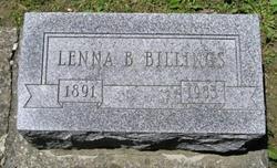 Lenna B <I>Smith</I> Billings