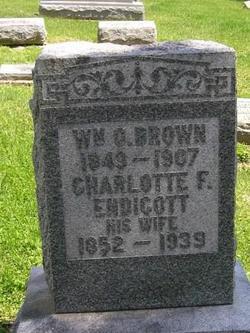 Charlotte F <I>Endicott</I> Brown