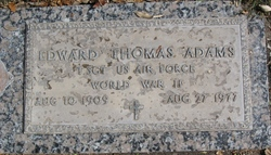 Edward Thomas Adams