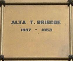 Alta Theora <I>Stone</I> Briscoe