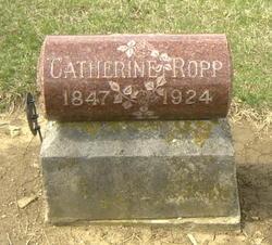 Catherine <I>Sheetz</I> Ropp
