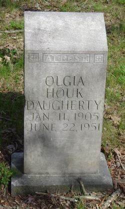 Olgia <I>Houk</I> Daugherty