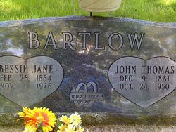 Bessie Jane <I>Conder</I> Bartlow