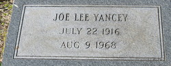 Joe Lee Yancey