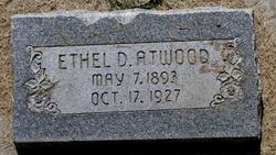 Ethel Othelia <I>Davis</I> Atwood