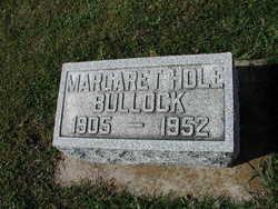 Margaret Louise <I>Hole</I> Bullock