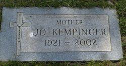 """Josephine Margaret """"Jo"""" <I>Sternig</I> Kempinger"""