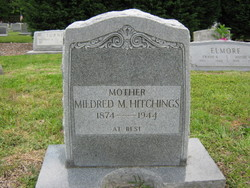 Mildred May <I>Hudgins</I> Hitchings