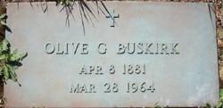 Olive Gretta <I>Mickle</I> Buskirk -Dunham
