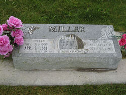 Eliza Evelyn <I>Peterson</I> Miller