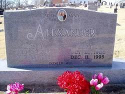 Roy Erastus Alexander