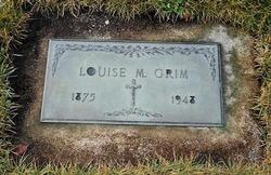 Louisa M. <I>Porria</I> Grim