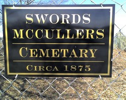Swords McCullers Cemetery