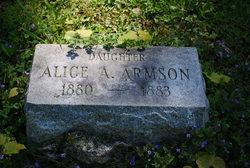 Alice A Armson