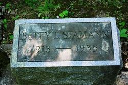 Betty Lucile Stamann