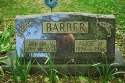 Abram V Barber