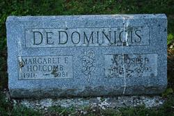 Marget G <I>Holcomb</I> Dedominicis